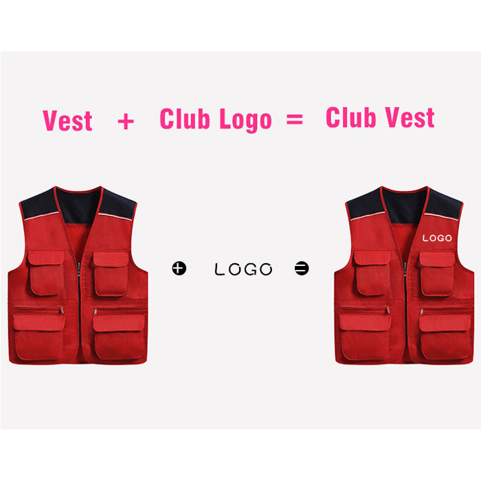 STG06V Customized Dual-Color Vest,Well Shaped