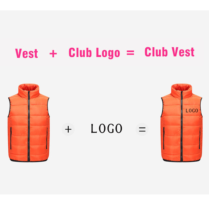 STG07V Customized Cotton Vest for Autumn and Winter use