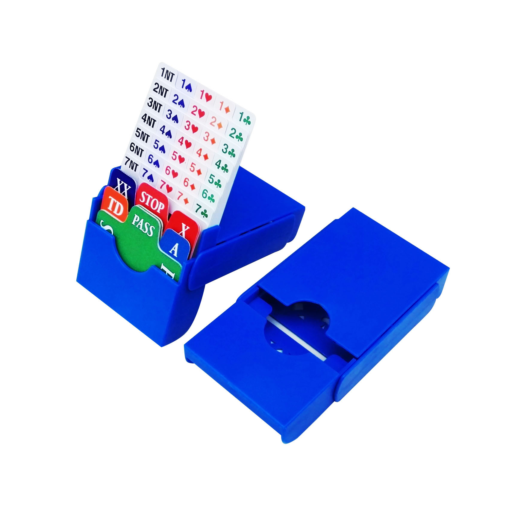 STBB001 Bidding Box(bidding box only),easy to open and fold
