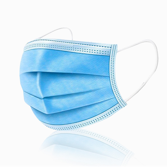 Disposable Face Masks for Personal Daily Health Protection - Bulk Quantity - Blue Color