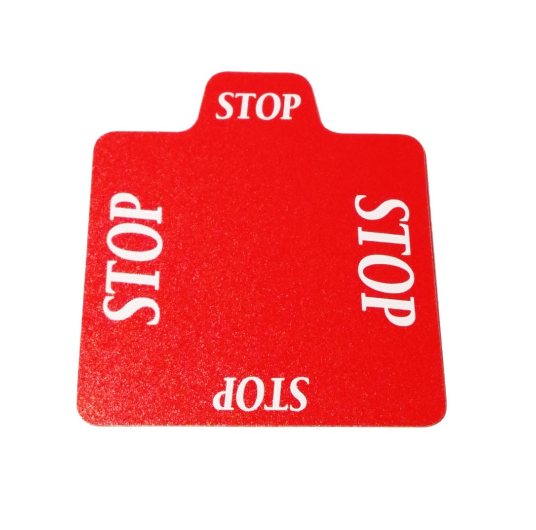 STBG018 replacing card STOP,100% plastic for all types of bidding devices,free shipping