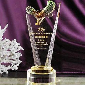 SCT007-27 K9 Crystal Trophy 27cm High