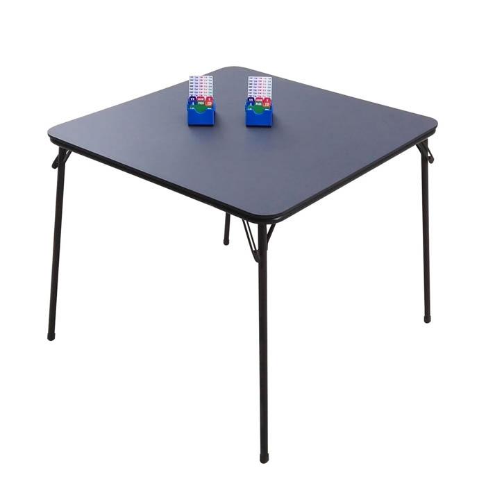 STT001 Bridge Table 33.5x33.5x29.0 inch with Black MDF Desktop