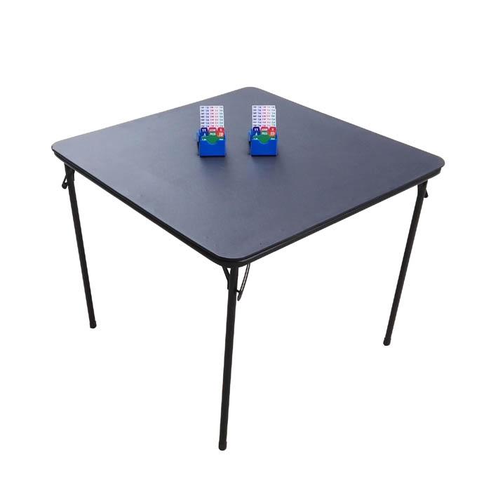 STT002 Bridge Table 33.5x33.5x27.5 inch with Soft PVC Desktop