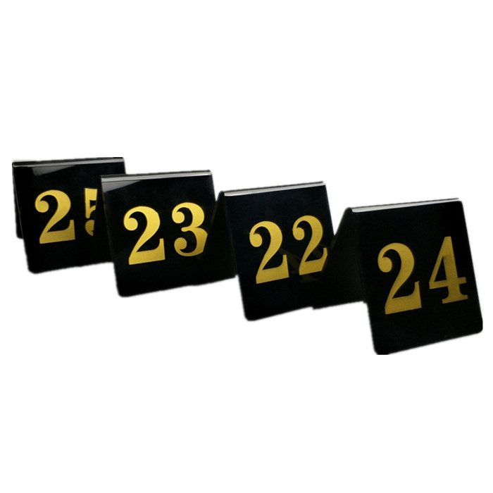 STTN02 Table Numbers for Bridge Table,Standing Type