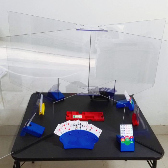 STS003 Transparent Bridge Isolation Screen for Bridge Federations,Clubs and Championships